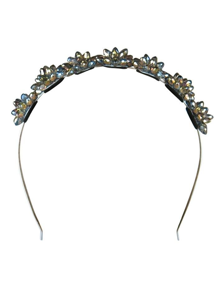 Crystal Flowers On A Headband image 4