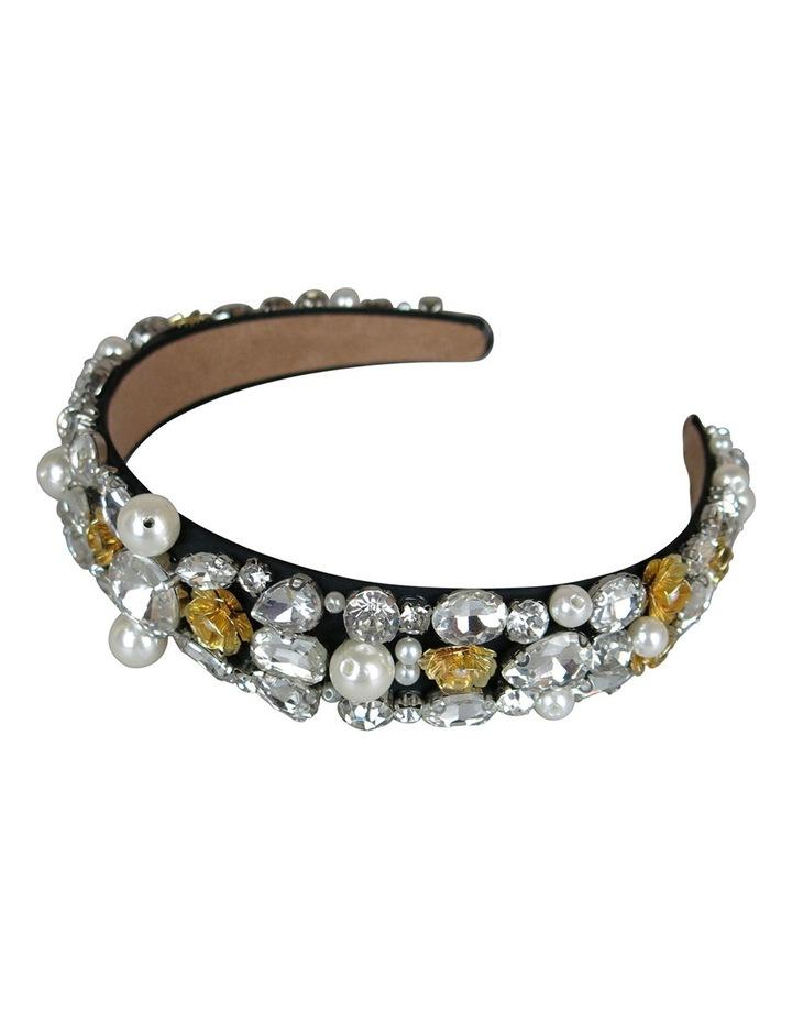 Loads Of Diamantes And Pearls On Baroque Headband image 2