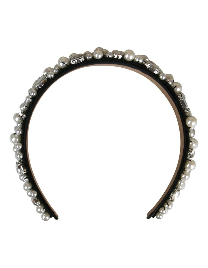 Loads Of Assort Pearls And Diamantes On Baroque Headband image 1
