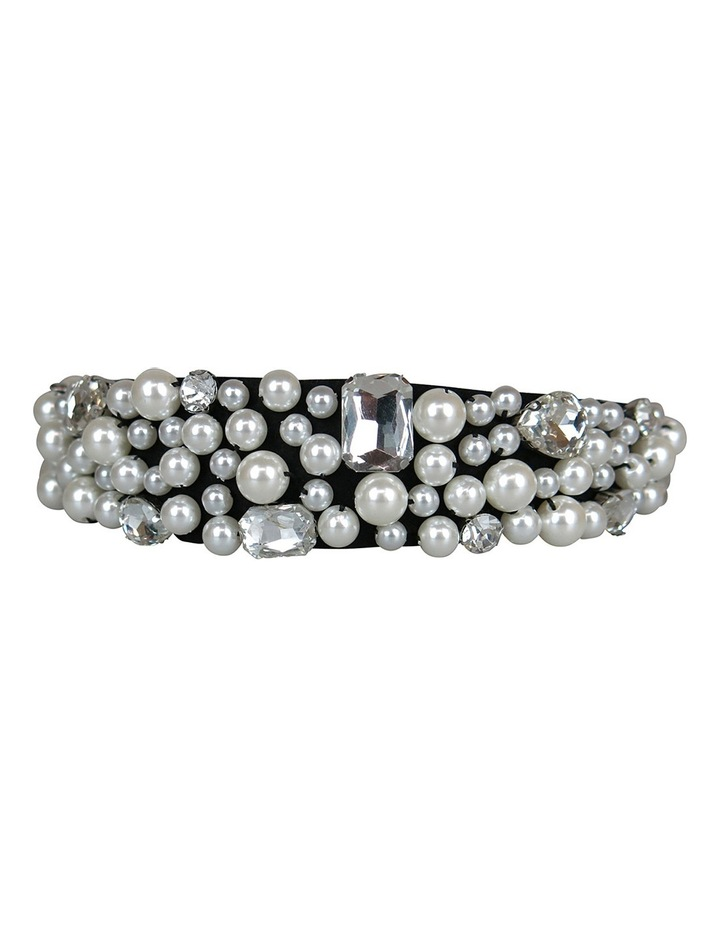 Loads Of Assort Pearls And Diamantes On Baroque Headband image 4