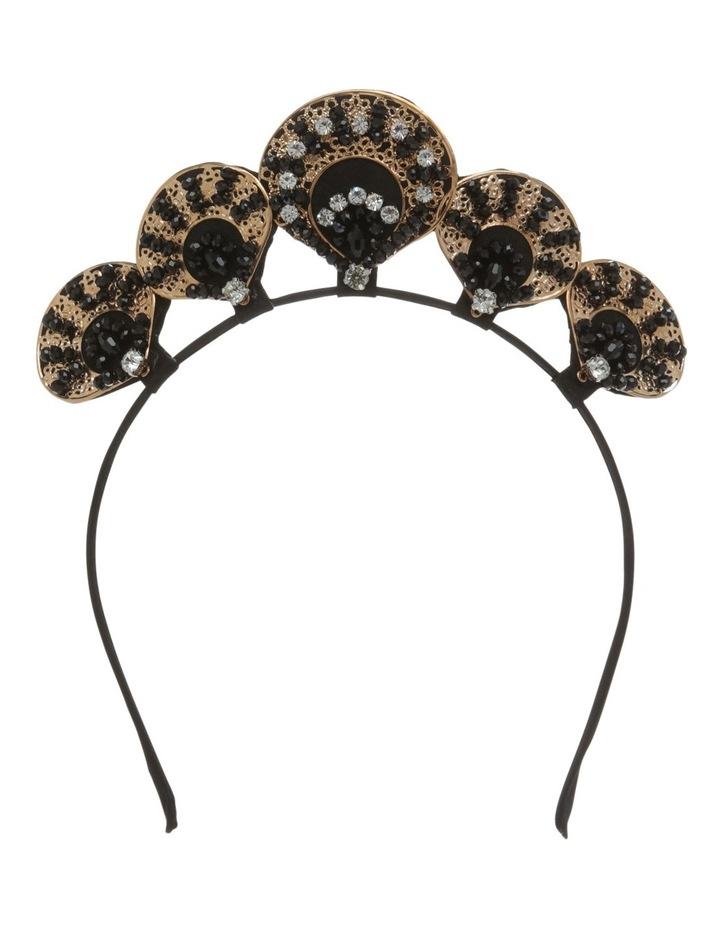 Diamonte Clam Headband image 1