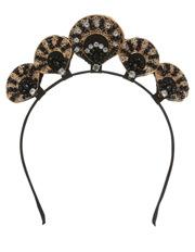 Collection - Diamonte Clam Headband