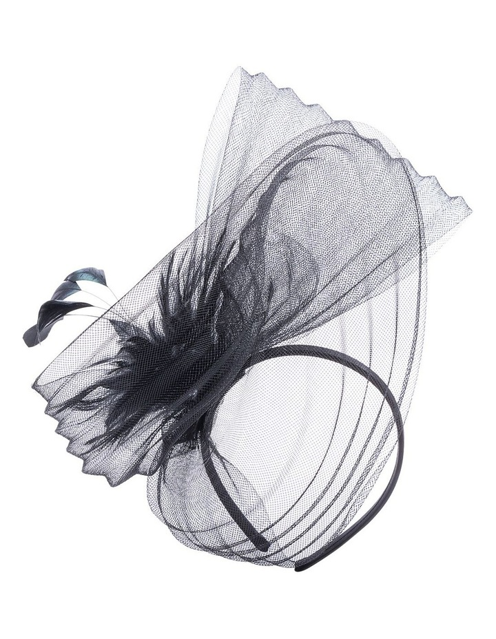 GHRP338M-GHRL365M Pleated Swirl Fascinator image 1