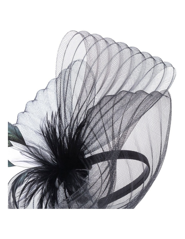 GHRP338M-GHRL365M Pleated Swirl Fascinator image 2