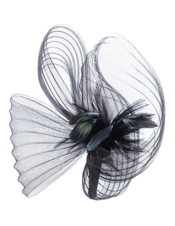 GHRP338M-GHRL365M Pleated Swirl Fascinator image 3