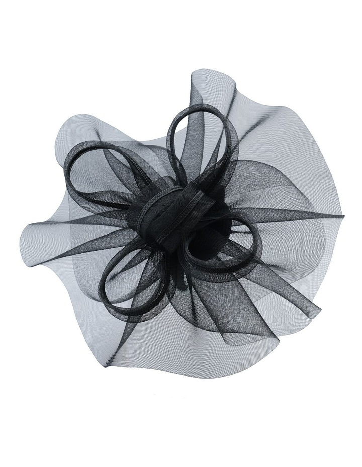 GHRL345M Gathered Circular Fascinator W Loops image 2