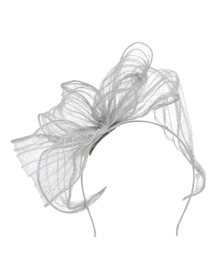 Stitched Sinamay Wide Loop Headband image 1
