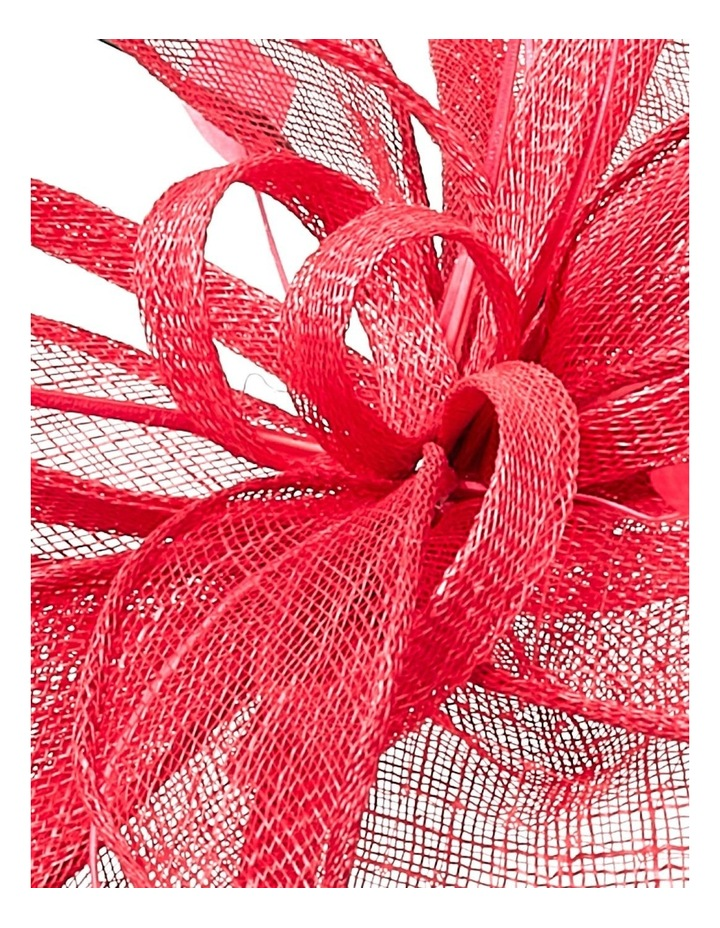 GHRL059M Cut Edge Platter W Veil Overlay Loops, Leaves And Feathers image 3