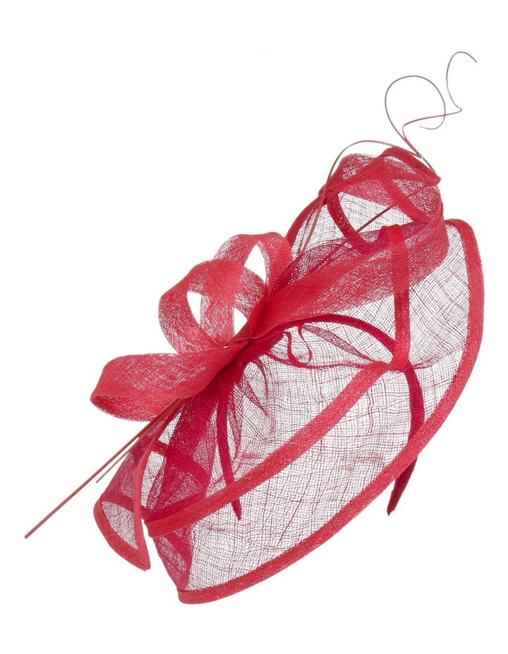 Edged Fascinator W Loops And Curly Sticks image 1