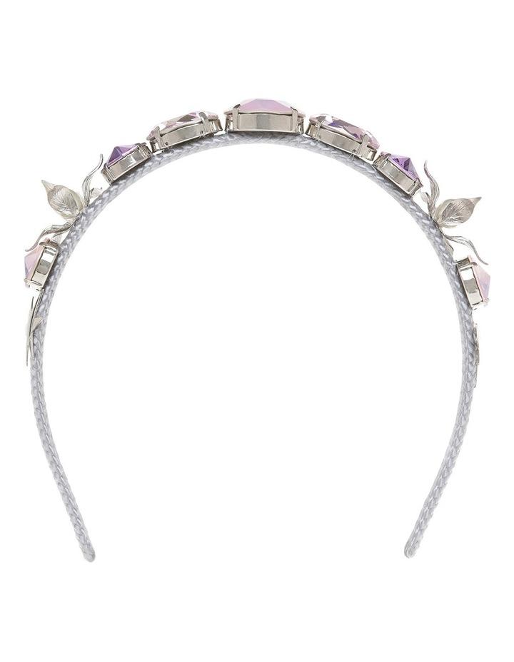Nadia Lilac, Pink Opal And Rose Crystal Headband image 1