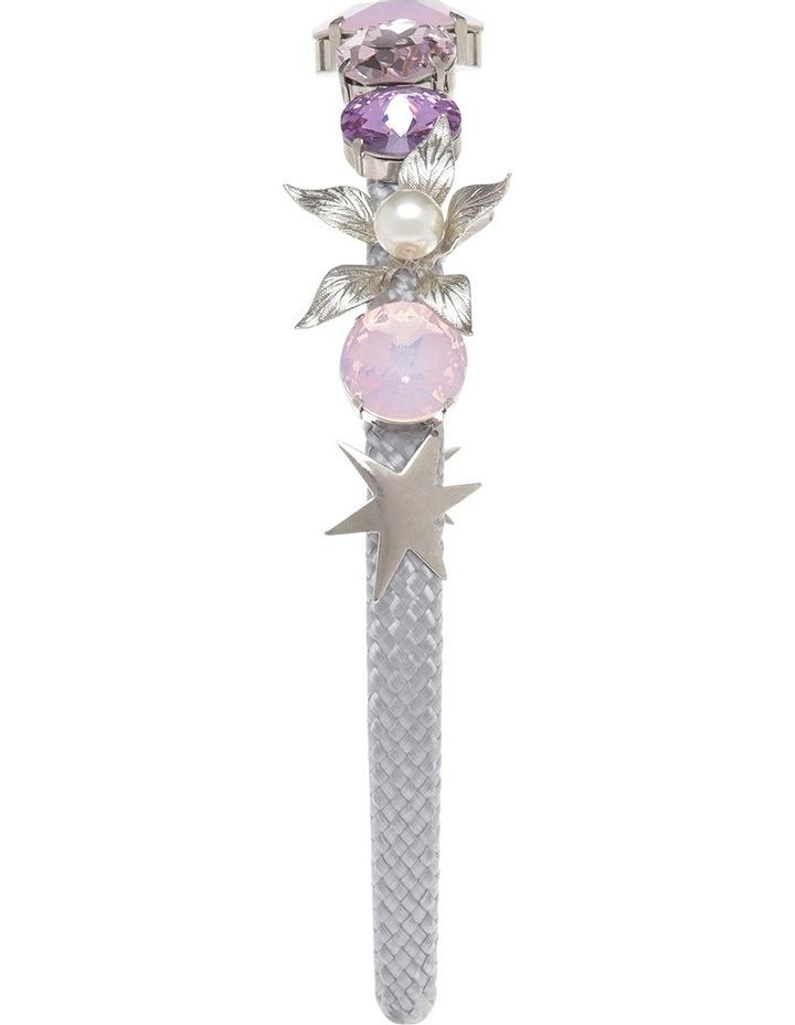 Nadia Lilac, Pink Opal And Rose Crystal Headband image 2
