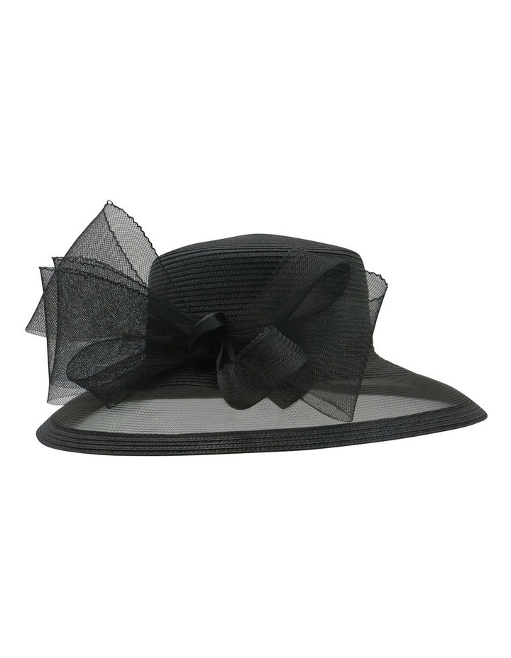 Braid & Cinoline Bow Hat image 1