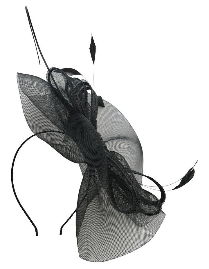 Crinoline Bow & Feathers On Headband image 2