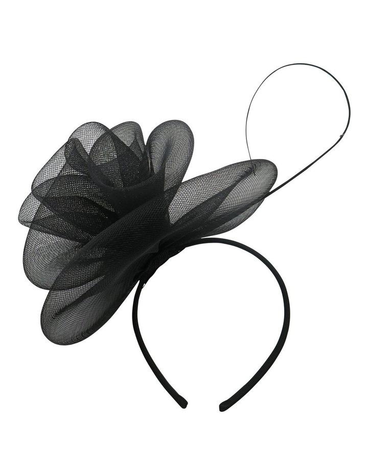 Crinoline Rosette With Stick On Headband image 1
