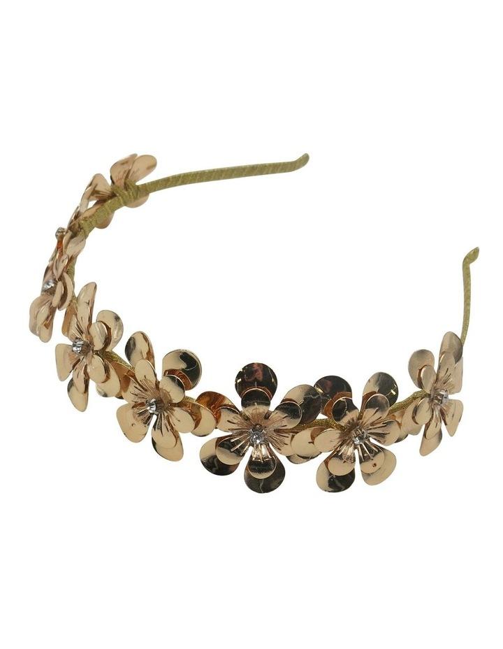 Floral Metal Headband image 1