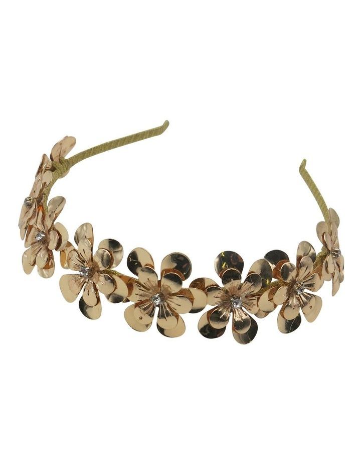 Floral Metal Headband image 2