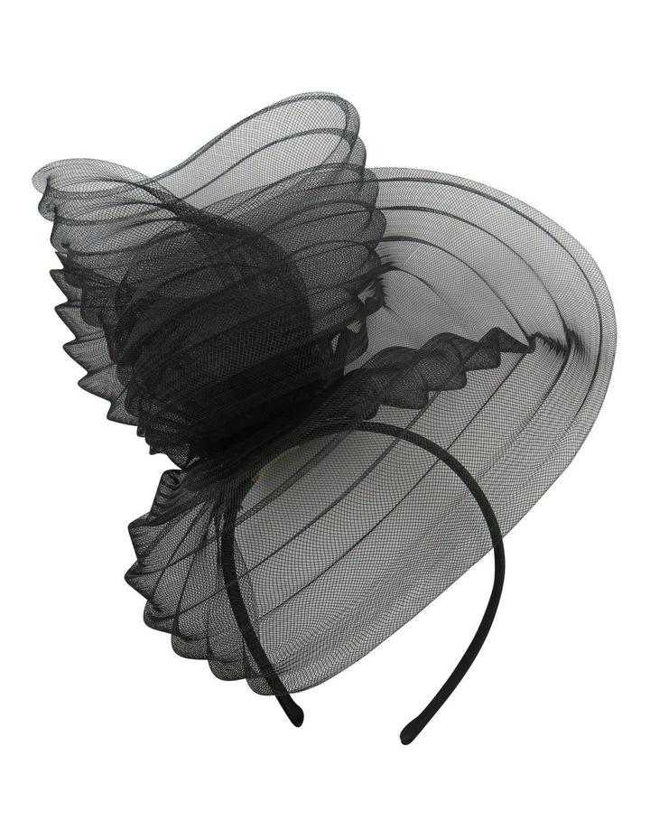 Pleated Cronline Wave On Headband image 1