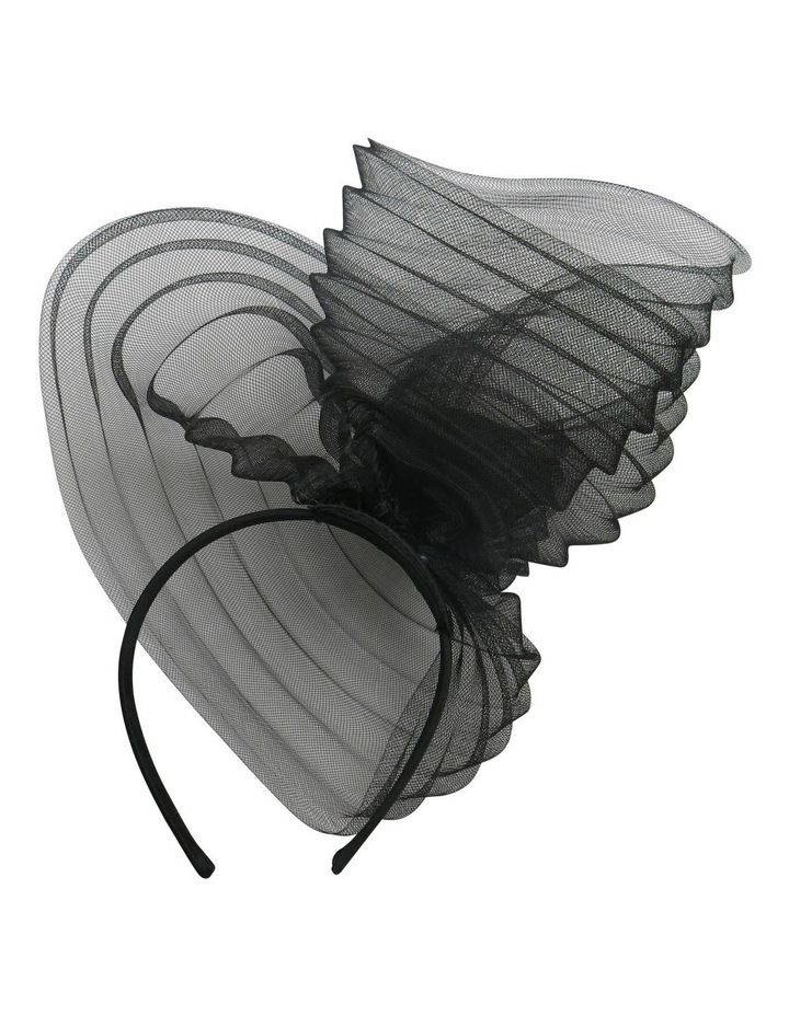 Pleated Cronline Wave On Headband image 2