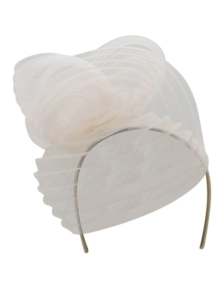 Pleated Cronline Wave On Headband image 1