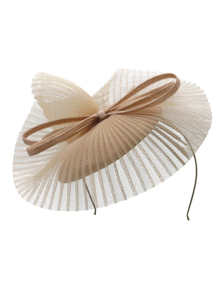 Sinamay Beret With Pleated Crin image 1