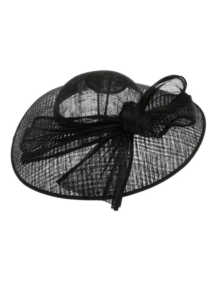 Plate With Pleated Bow - Black image 2