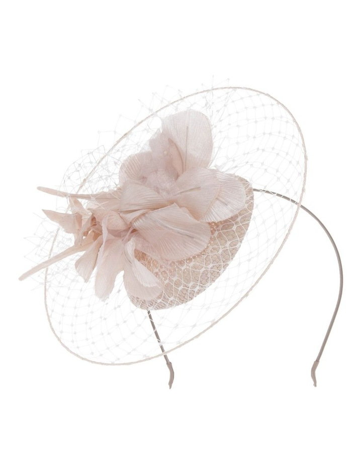 Netted Floral Headband - Silver image 1