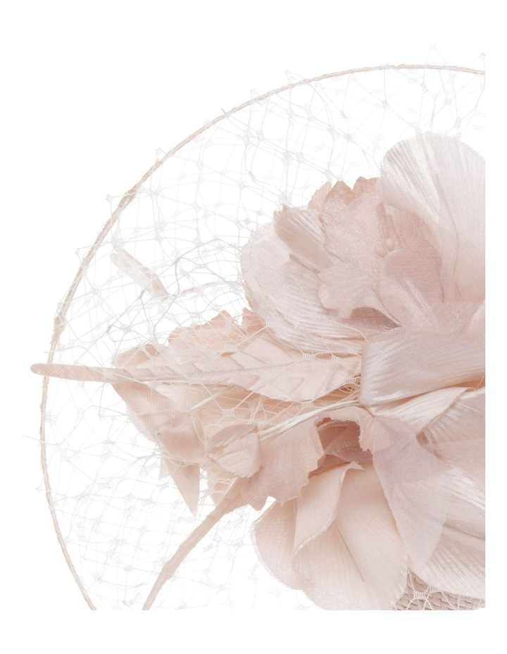 Netted Floral Headband - Silver image 3