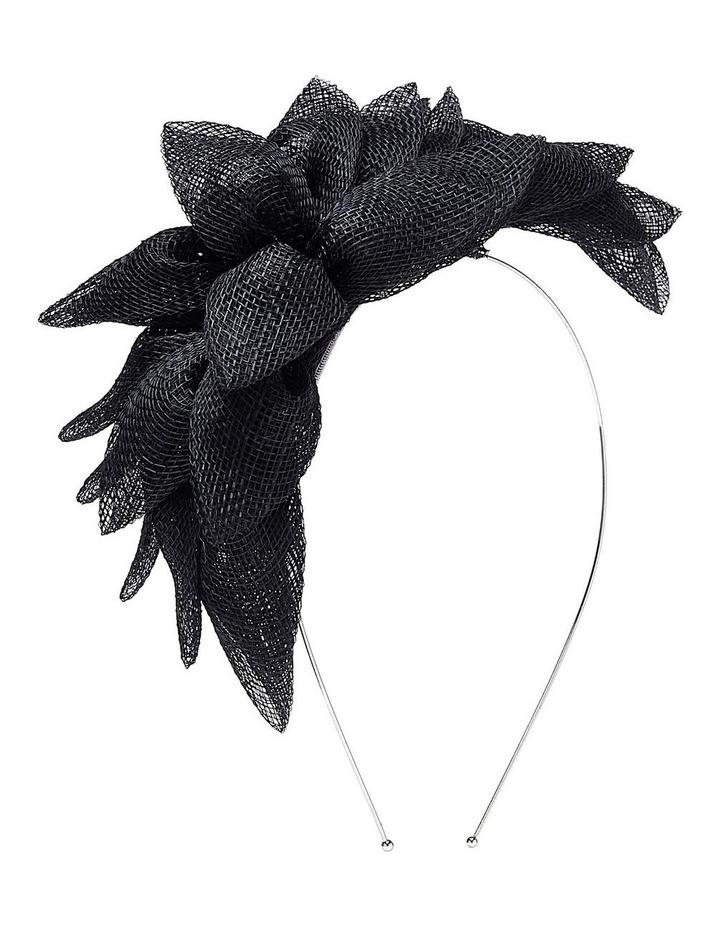 Sinamay Leaf On Headband image 2