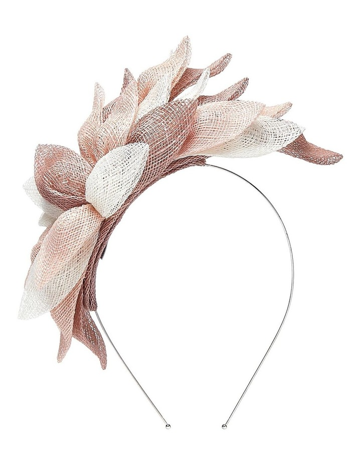 Sinamay Leaf On Headband image 1