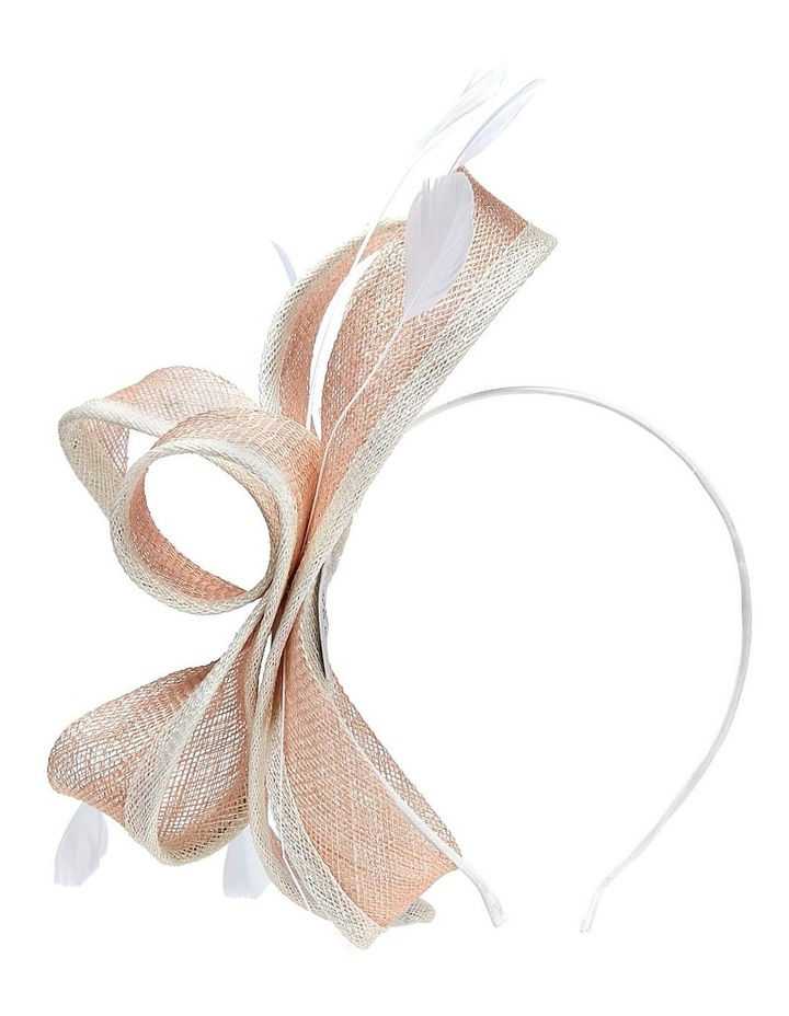 Edged Sinamay Bows And Feathers image 1