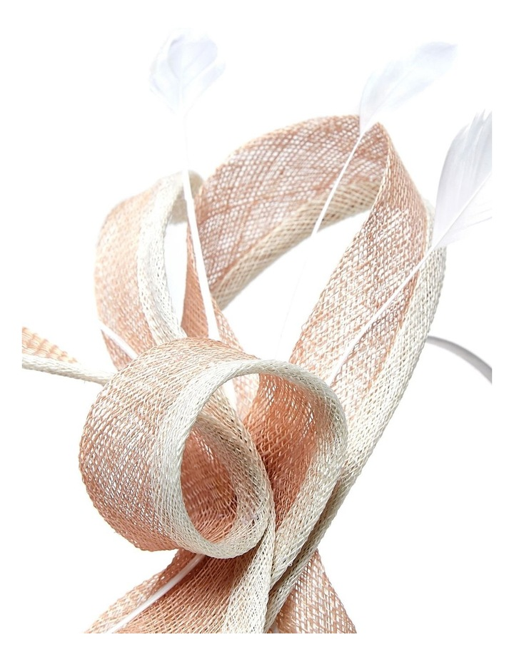 Edged Sinamay Bows And Feathers image 3