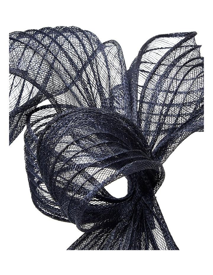 Pleated Sinamay Bow image 3