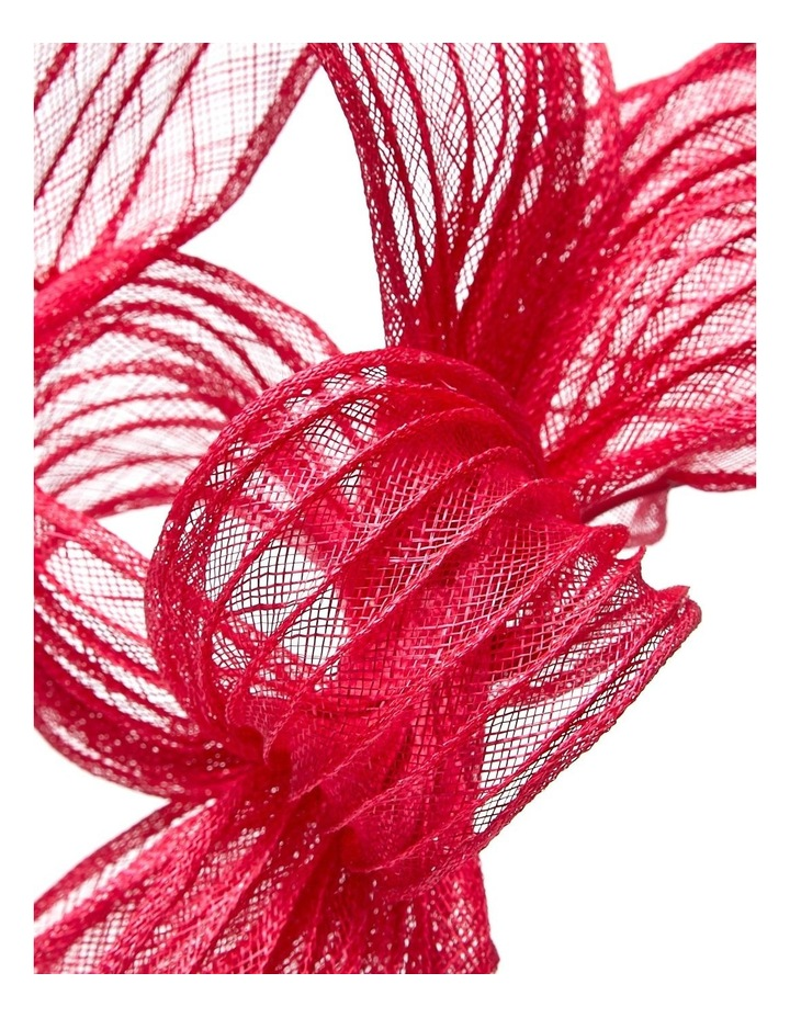 Pleated Sinamay Bow image 1