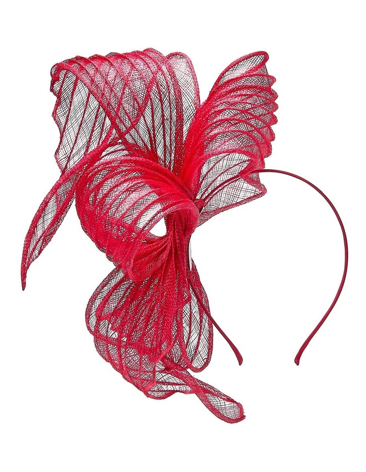 Pleated Sinamay Bow image 2