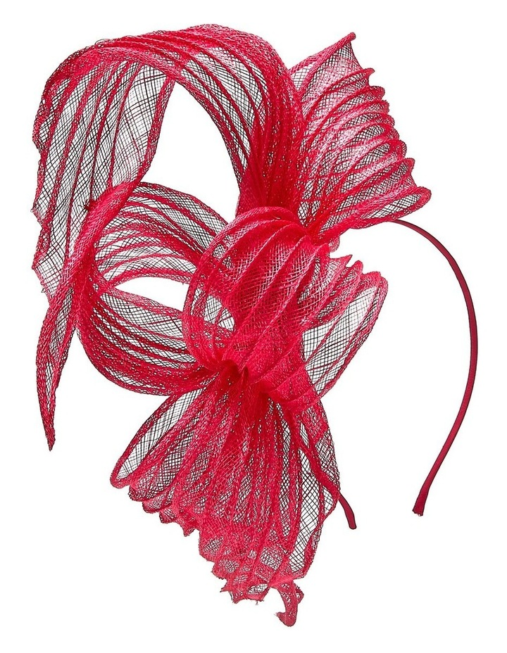 Pleated Sinamay Bow image 3