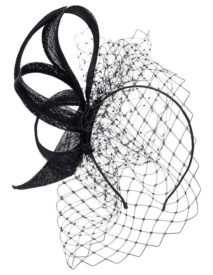Sinamay Bow W Veil image 1