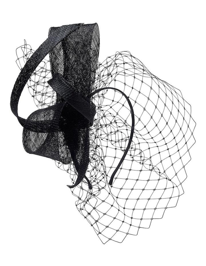 Sinamay Bow W Veil image 2