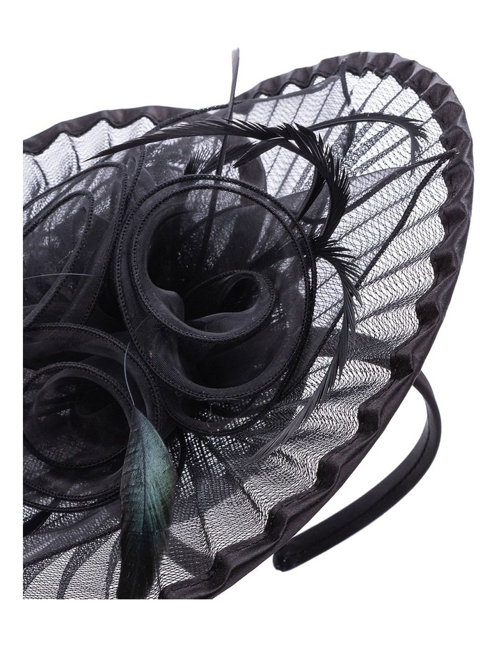Pleated Crinoline With Rose And Feathers image 3