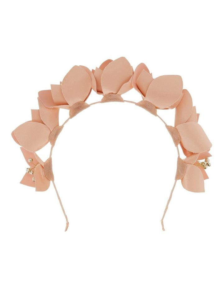 PU Floral Headband image 1