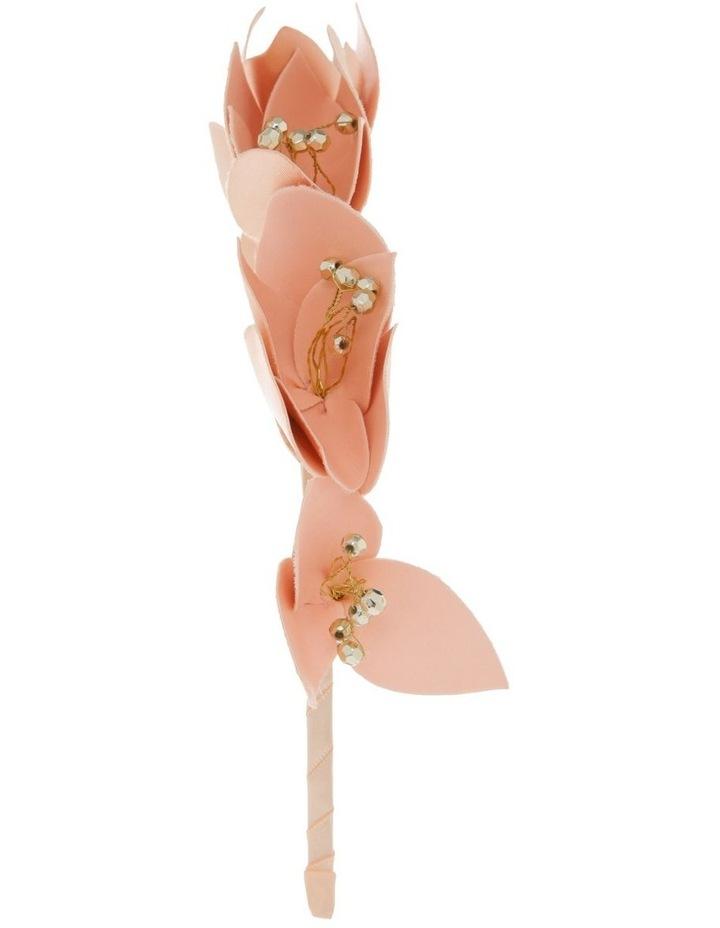 PU Floral Headband image 2