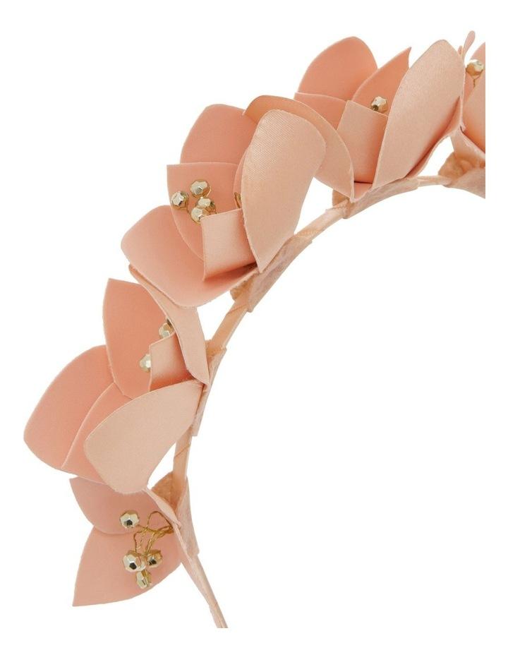 PU Floral Headband image 3