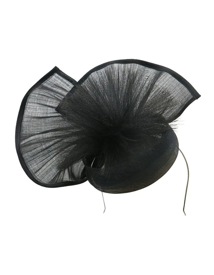 Hemp Fan With Crin Spray Fascinator image 1