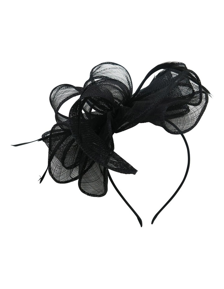 Sinamay Multi Loops With Coq Feathers Fascinator image 1