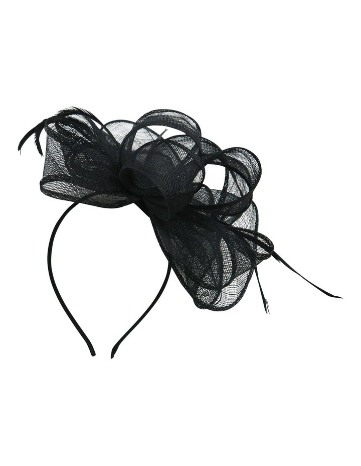 Sinamay Multi Loops With Coq Feathers Fascinator image 2
