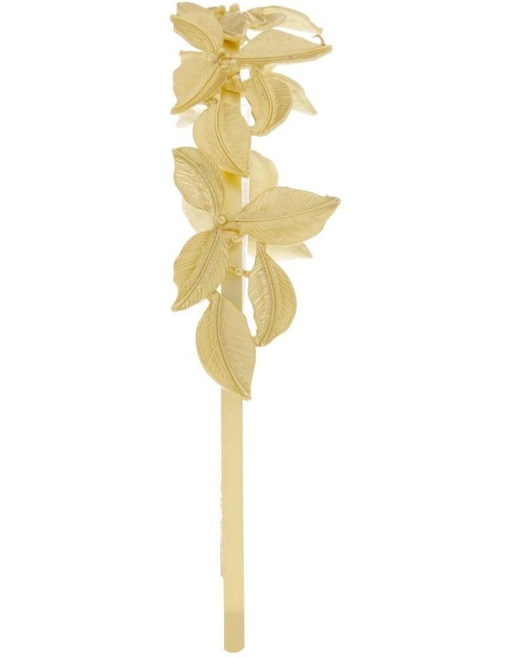 Gold Metal Leaf Headband image 2