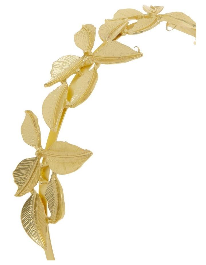 Gold Metal Leaf Headband image 3