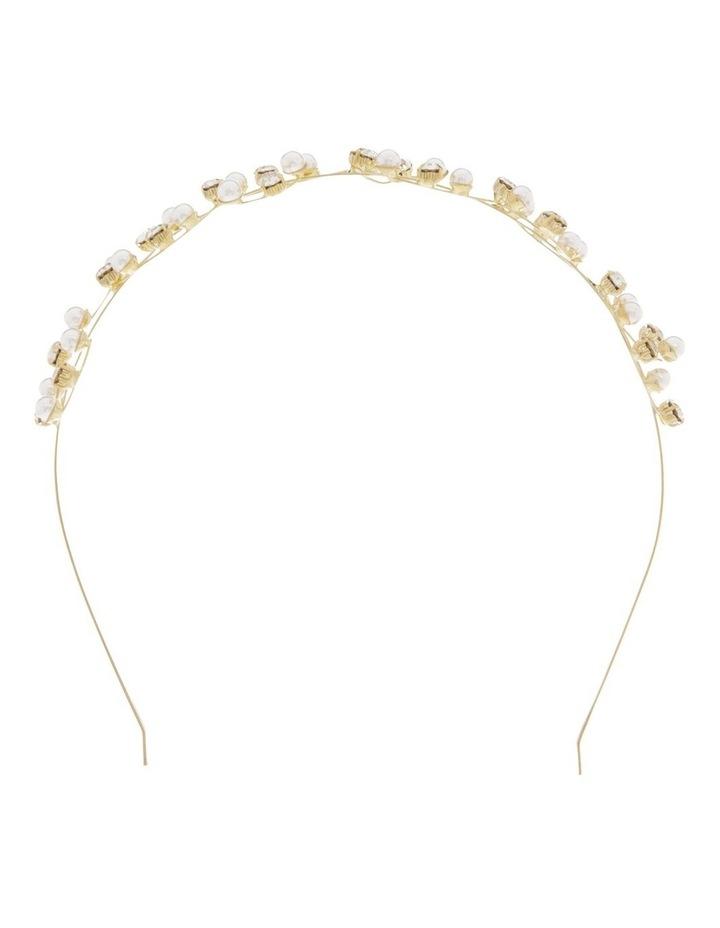Pearl And Cz Headband image 1