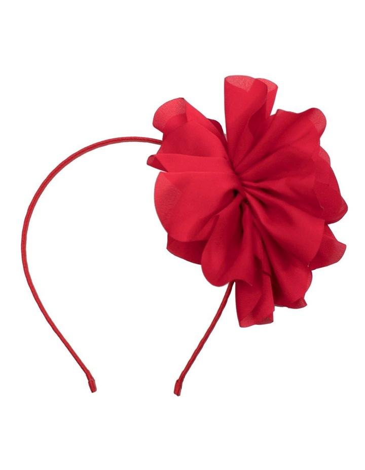 Fabric Flower Fascinator image 1