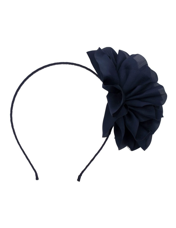 Fabric Flower Fascinator image 1