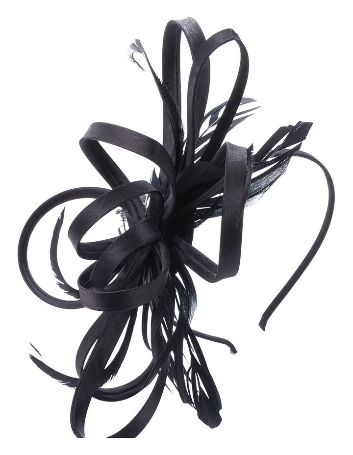Satin Loops And Feathers Fascinator image 2